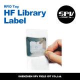 RFIDライブラリステッカー50X50mm UHFモンツァ4 ISO18000-6c