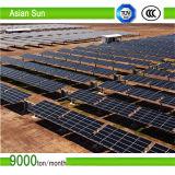 Brides de toit de supports de panneau solaire pour le système domestique 4kw