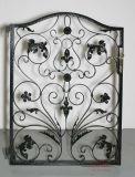 Portas pequenas elegantes feitas ao ar livre do ferro do metal do estilo europeu
