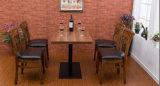 椅子のコーヒー椅子(M-X2053)を食事する灰の固体木の椅子