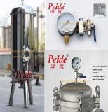 1 Mikron-einzelnes Beutel-Edelstahl-Meerwasser-Filter-System