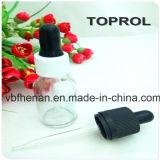 Frasco 30ml de vidro consideravelmente ambarino para o E-Líquido e o petróleo essencial