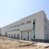 A estrutura de aço do metal do projeto da construção do baixo custo/pré-fabricou o armazém