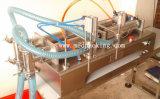 double liquide 10-300ml principal ou machine de remplissage pneumatique automatique de boissons non alcooliques de machine de remplissage