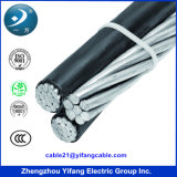 Aluminium Conductor를 가진 Bundled 공중 ABC Cable