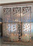 Außenlaser-Schnitt-Panel-Fassade-Edelstahl-dekorativer Bildschirm
