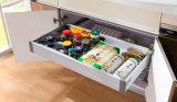 高品質紫外線MDFの高い光沢のある食器棚(ZX-006)