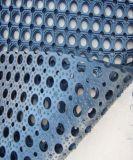オイル抵抗のゴム製マット、スリップ防止台所マット、反細菌のゴムマット