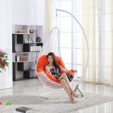 ハングの椅子の&Swing藤の家具、藤のバスケットの振動(D018)