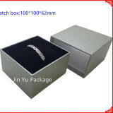 Rectángulo de empaquetado de la joyería de cuero de papel de encargo del regalo Jy-Jb59 de la caja del rectángulo de la pulsera del collar del reloj del pendiente del anillo