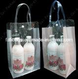 Sac cosmétique clair d'emballage de PVC pour Madame