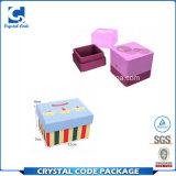 정연한 고품질 색깔 판지 상자