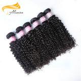 Extensão brasileira do cabelo do Virgin da fábrica 100 do cabelo de Shangdong