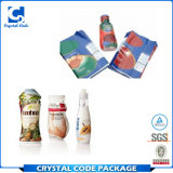 Étiquettes faites sur commande de collants d'enveloppe de rétrécissement de matériau d'impression et d'emballage