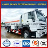 Camion de réservoir de stockage de pétrole de HOWO 8X4 24m3