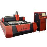 Machine de découpage commutée entièrement incluse de laser de fibre avec la haute précision