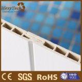 Panneau composé intérieur personnalisé de papier de mur de PVC du panneau WPC