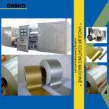 Máquina de la vacuometalización de R2r para el sistema de aluminio del laminado PVD del PE del aislante