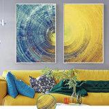 Illustration d'art de mur de peinture d'abrégé sur pétrole de toile de Cusomized HD avec le bâti pour la décoration à la maison