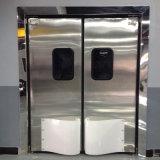 Industrielle ABS Plastik-oder Edelstahl-Auswirkung-schwingverkehrs-Türen für Nahrungsmittelfabrik