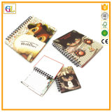 Impression de cahier et d'agenda, carnet de notes à spirale A4 A5 A6
