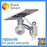 8W Solar LED Yard Light com painel ajustável