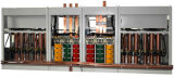 500kVA 3p 4W 380V Builtin Überbrückung LCD-Bildschirm intelligenter Spannungs-Regler