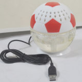 Purificador Home Energy-Saving Shaped do refrogerador de ar do carro do futebol