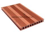 WPC fora de composto plástico do assoalho/Eco-Friendly de madeira decoram o revestimento de Decking/DIY WPC