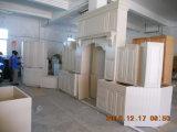 Armadietto di legno solido della cucina di Guanjia, cucina di legno Cabinetskc025 dell'acero