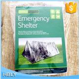 Im Freiengoldsilber-mehrfachverwendbarer Emergency Platz-Zelt-Schutz
