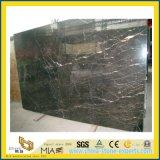 Китайские слябы St. Laurent черные мраморный для строительного материала настила