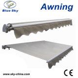Tente escamotable électrique de polyester durable populaire (B1200)