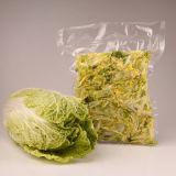 Gemüsevakuum, das Film einwickelt