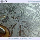 低い鉄ガラスまたは銀のミラーまたは青銅ガラスが付いている4mm-12mm酸によってエッチングされるSatinizedのガラス