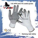pente résistante 5 de niveau de gant de la coupure 13G enduite par unité centrale