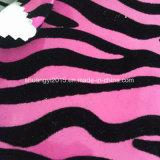 Нашивки зебры Flocking кожа PU для ботинок повелительниц