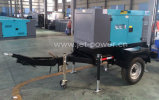Tipo diesel di Denyo di prezzi del generatore di potere del rimorchio delle due rotelle