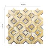 Mattonelle di pavimento di vetro dell'acquazzone del mosaico della parete multicolore della cucina per la casa