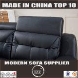 يعيش غرفة جلد ثبت أريكة أثاث لازم حديثة [لز002]