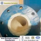 Fabricantes alineados de cerámica del trazador de líneas del tubo de los codos del alúmina Anti-Corrision