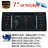 Lettore DVD dell'automobile per BMW M5 BMW Serie 5 E39 di navigazione GPS con Bluetooth Video (HL-8786GB)