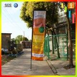 Tentoonstelling van de Reclame van het Gebruik van de Vlag van de Veer van de polyester de Promotie