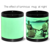 Atacado Blank Luminous Sublimation Ceramic Promotional Mugs