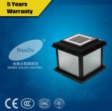 Lumière modèle solaire de lampe de poste de DEL