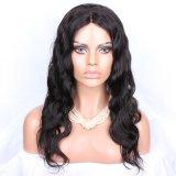 Парики шнурка бразильских человеческих волос девственницы полные освобождают волос волны естественные