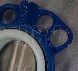 Клапан-бабочка промышленных 150lb-5-Di-CF8m мягкая усаженная