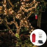 Agua salada de la luz de la cadena de la Navidad del LED para el regalo del jardín del partido