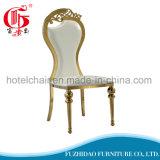 Silla banquete de la boda de oro rosa de muebles de acero inoxidable con el Partido