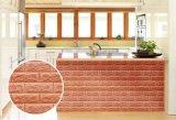 El panel de pared insonoro hermoso de Wallcovering del papel pintado 3D de DIY